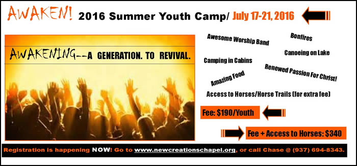 Christian youth camp in Indiana