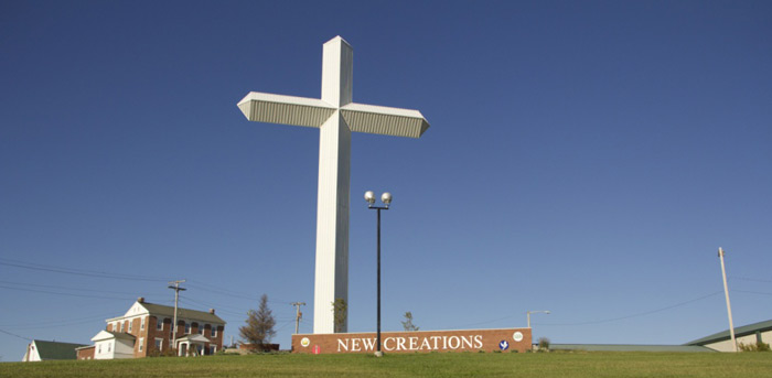 Miracle Cross at New Creations