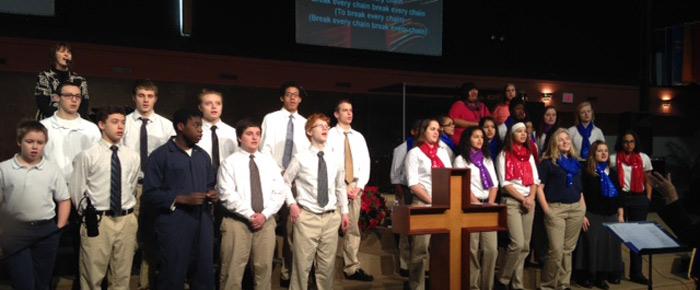 New Creations student choir