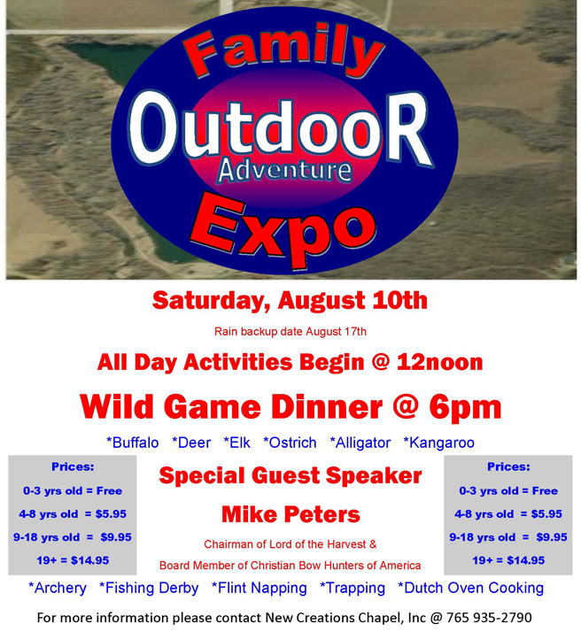new creations outdoor expo poster