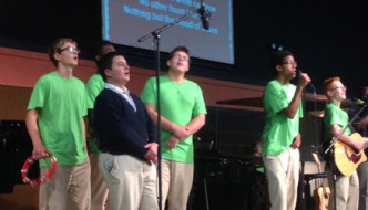 boys led worship service
