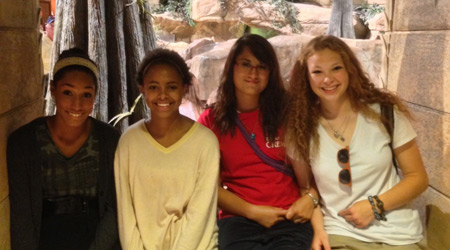 student visit to creation museum
