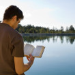 reading bible lake